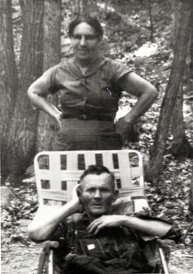 My Great-Grandparents Johnnie & Cora Wyant